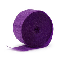 Crepe Streamer Purple Garland (81ft)
