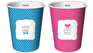 Bow or Bow Tie Cups (8)