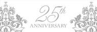 25th Anniversary Scroll Giant banner (20inx60in)