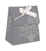 Silver Scroll Favour Bags (12)