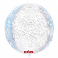 Orbz Frozen Snowflakes Foil Balloon (15in)