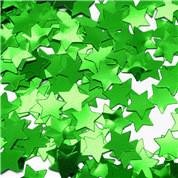 Green Star Confetti