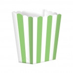 Candy Buffet Popcorn Treat Boxes Kiwi Green (5)