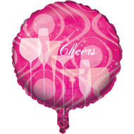 Fabulous Birthday Metallic Balloon (18in)