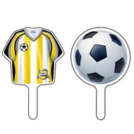 Football Party Team Sports Cupcake Toppers (12)