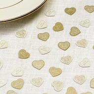 Vintage Romance Table Confetti - Ivory/Gold