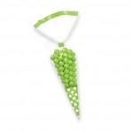 Candy Buffet cone Polka Dots Bags Kiwi Green (10)