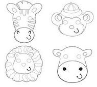 Colour your own Paper Masks (12)