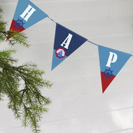 Ahoy There Happy Birthday Bunting (3.5m)