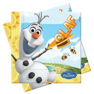 Disney Frozen Olaf Summer Lunch Napkins (20)