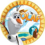 Disney Frozen Olaf Summer Plates (8)