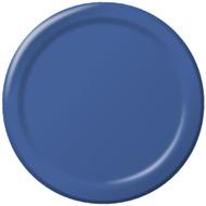 Navy Blue Dessert Plates (8)