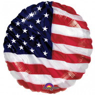 USA Flying Colours Foil Balloon (18in)