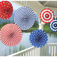 USA Paper Fan Hanging Decorations (6)