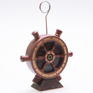 Ships Wheel photo or balloon holder