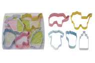Baby Cookie Cutter Set (5 pieces)