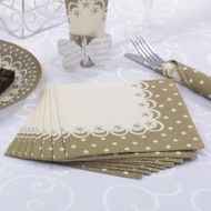 Chic Boutique Gold Cocktail Napkin (20)