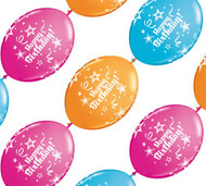 Happy Birthday Balloon Banner 12 inches (10)