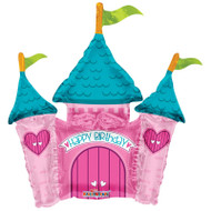 Castle Air Filled Foil Balloon (14in)