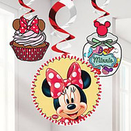 Minnie Mouse Cafe Hanging Decorations (3)