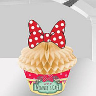 Minnie Mouse Cafe Cupcake Table Decoration