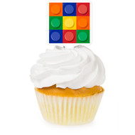 Block Party Cupcake Toppers (12)