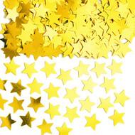 Gold Star Metallic Confetti