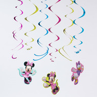 Minnie Mouse Swirl Decorations (3)