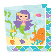 Mermaid Friends Lunch Napkins (16)