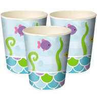 Mermaid Friends Party Cups (8)