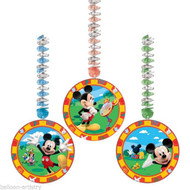 Mickey Mouse Hanging cutouts