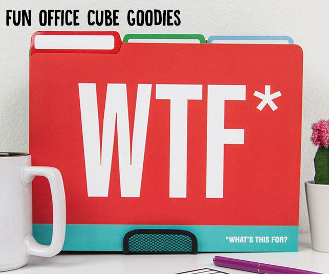 Fun Office Cube Goodies