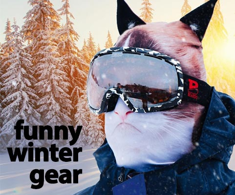 Funny Winter Hats