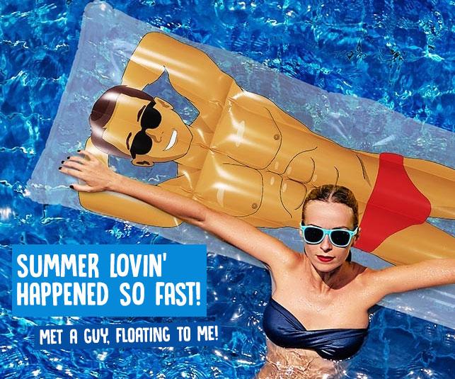 Funny + Unique Pool Floats