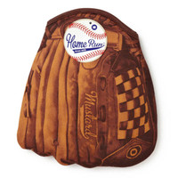 BASEBALL GLOVE OVEN MITT BACK