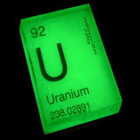 Uranium Glow In The Dark Periodic Table Soap