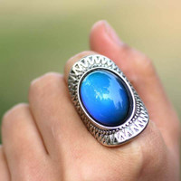 JUST WHO ARE YOU CALLING MOODY MOOD RING