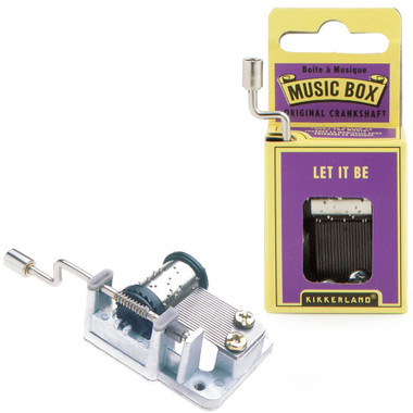LET IT BE CRANK MUSIC BOX
