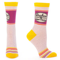 DUCHESS OF SASSYTOWN SOCKS
