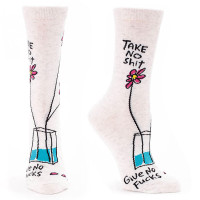 TAKE NO SH*T, GIVE NO F*CKS SOCKS