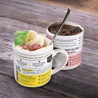 GRUB MUGS RECIPE MUG SET