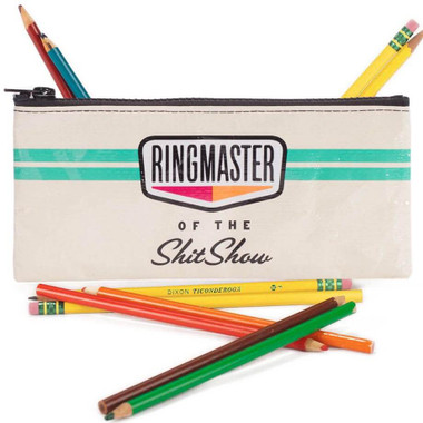 Ringmaster Of The Shitshow Pencil Case