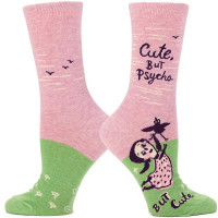 Cute, But Psycho. But Cute Socks
