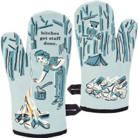 B*tches Get Stuff Done Oven Mitt