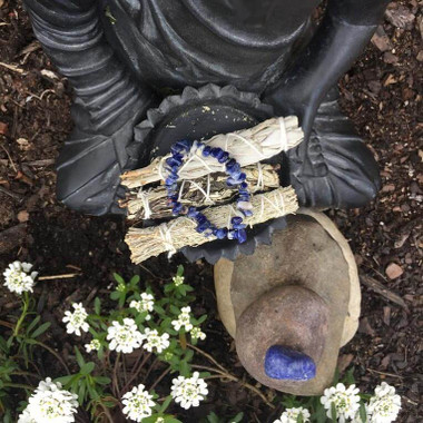 Genuine Lapis Lazuli Truth Crystal Bracelet