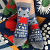 The Universe Is A Dick Women's Ankle BlueQ Socks