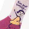 I'm Not Bossy. I'm the Boss. Women's Crew Socks
