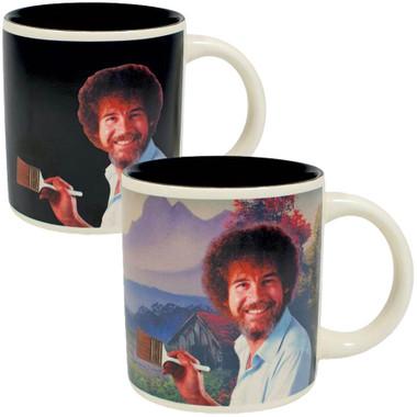 Bob Ross Self-Painting Heat Sensitive Mug