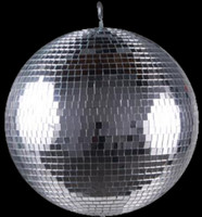 "American DJ 12"" Glass Disco Mirror Ball / M1212"