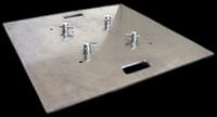 """Global Truss 30"""" x 30"""" Aluminum Truss Base Plate"""
